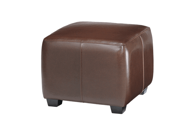 Cool Oslo Leather Ottoman For Rent Brook Furniture Rental Camellatalisay Diy Chair Ideas Camellatalisaycom